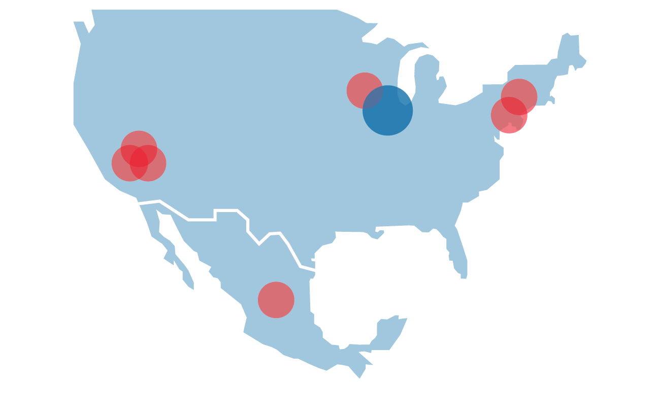 Map of Toyo Business Engineering Partner Headquarters